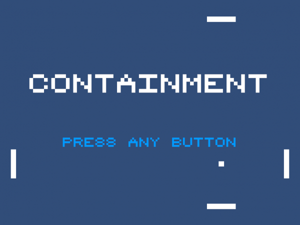 Containment Title Screen