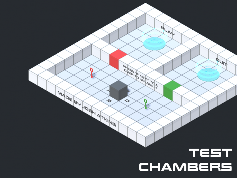 Test Chambers Menu Screen