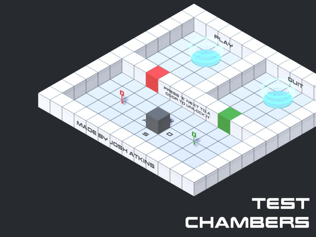 Test Chambers Menu Screen